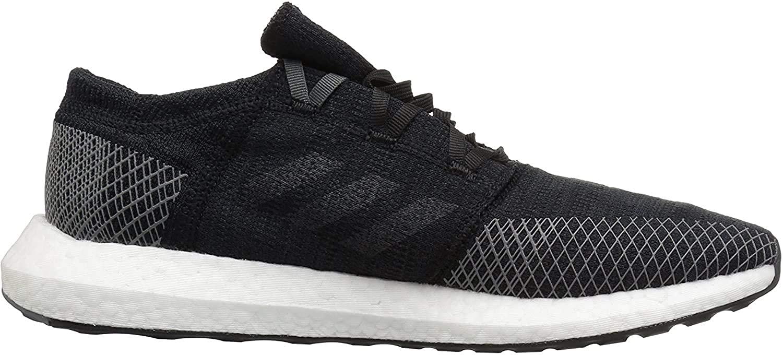 adidas Men's Pureboost Go Running Shoe, Black/Grey/Grey, 11.5 M US