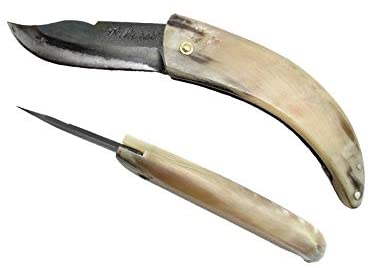 LAGUIOLE Curnicciollo Corsican Knife, 18 cm with Horn Handle