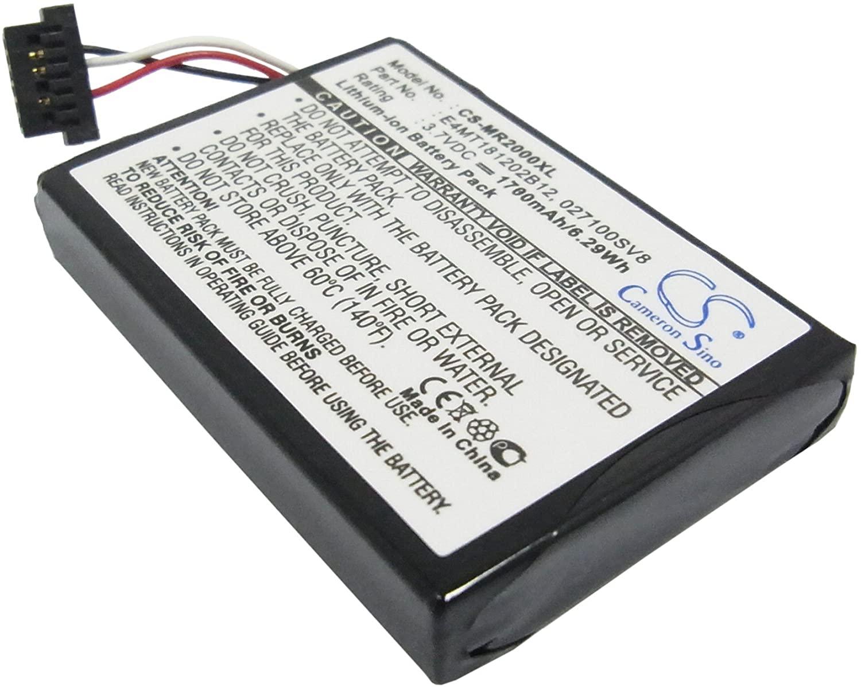 Battery Pack E4MT181202B12 Replacement for Magellan RoadMate 2000 RoadMate 2200T RoadMate 2250T 1700mAh