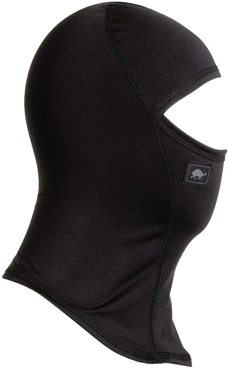 Turtle Fur Kids Comfort Shell UV Ninja Lightweight Balaclava, Black - Small