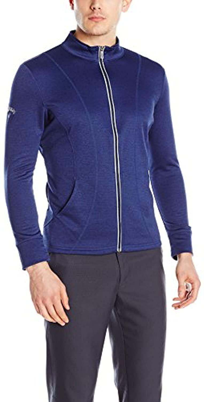 Callaway Men's Golf Full Zip Long Sleeve Fit Fleece Jacket