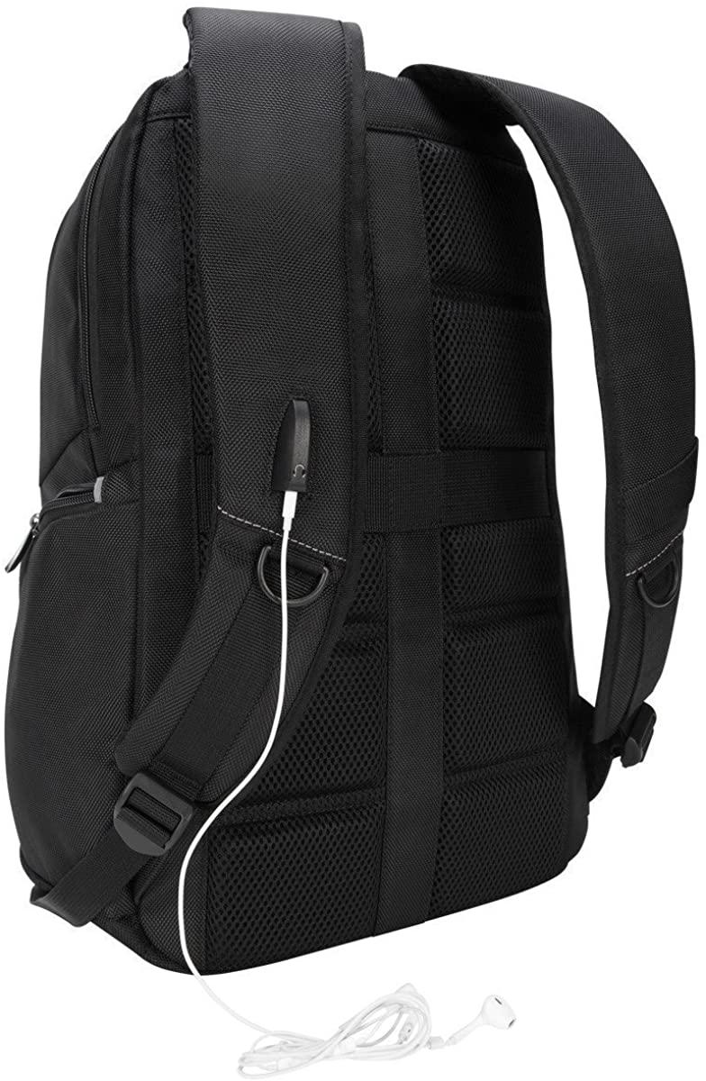 Legend IQ Backpack, 12 3/5 x 10 1/2 x 18 3/10, Black