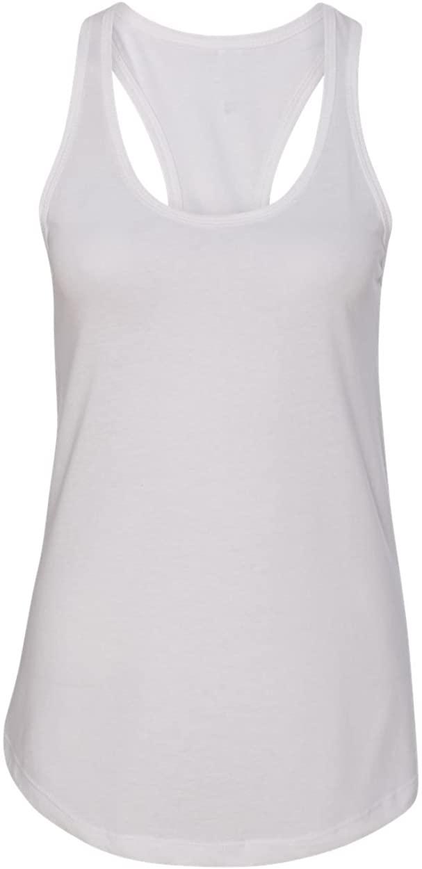 Next Level Apparel Women's The Ideal Quality Tear-Away Tank Top, White, XXL- 16-18