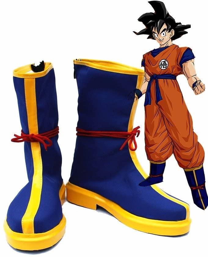Telacos Dragon Ball Anime Monkey King Son Goku Kakarot Cosplay Shoes Boots Custom Made