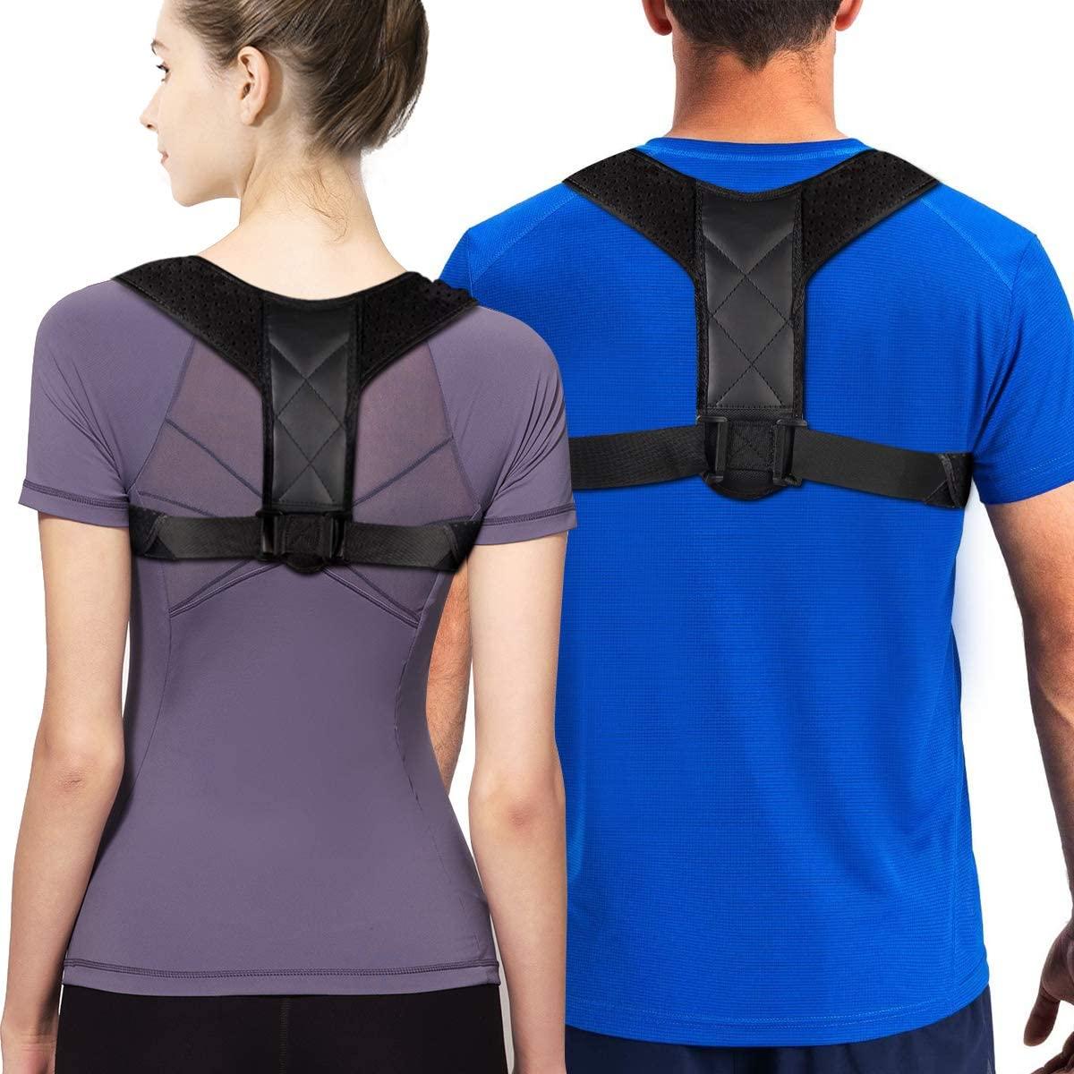 GTETKDE Back Posture Corrector for Men Posture Support Brace for Women Providing Pain Relief from Neck, Back and Shoulder (GT002)