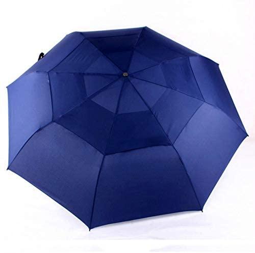 lliang Umbrella 125 cm Big Business Umbrella Men Automatic Umbrella Rain Women Double Layer 8 Ribs Windproof Wooden Handle Large Umbrellas