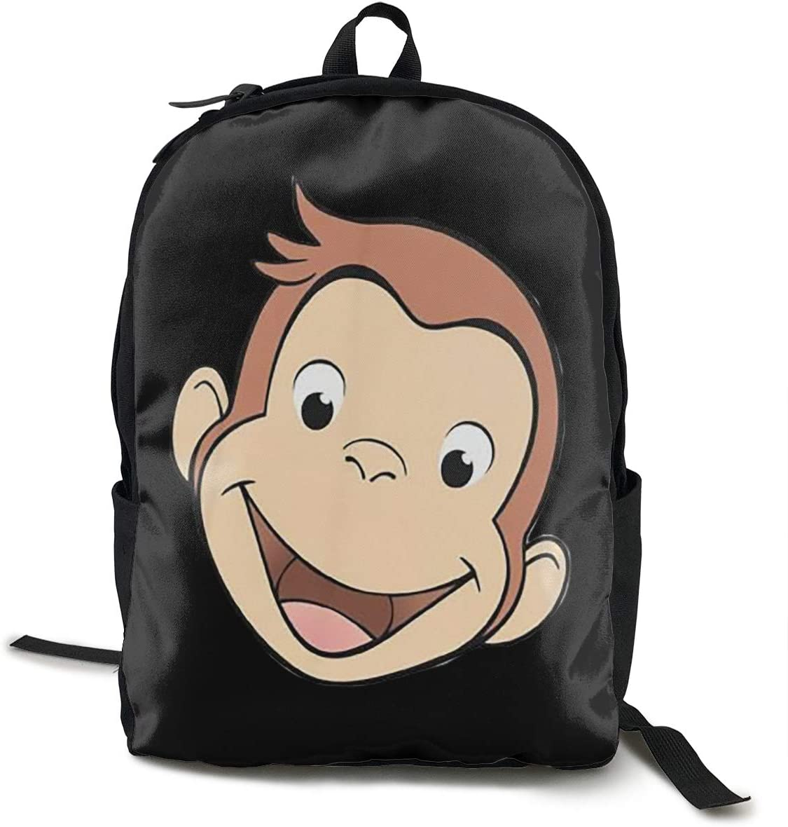 Reagan Curious George Jersey Unisex Multi-Function Outdoor Travel Backpack