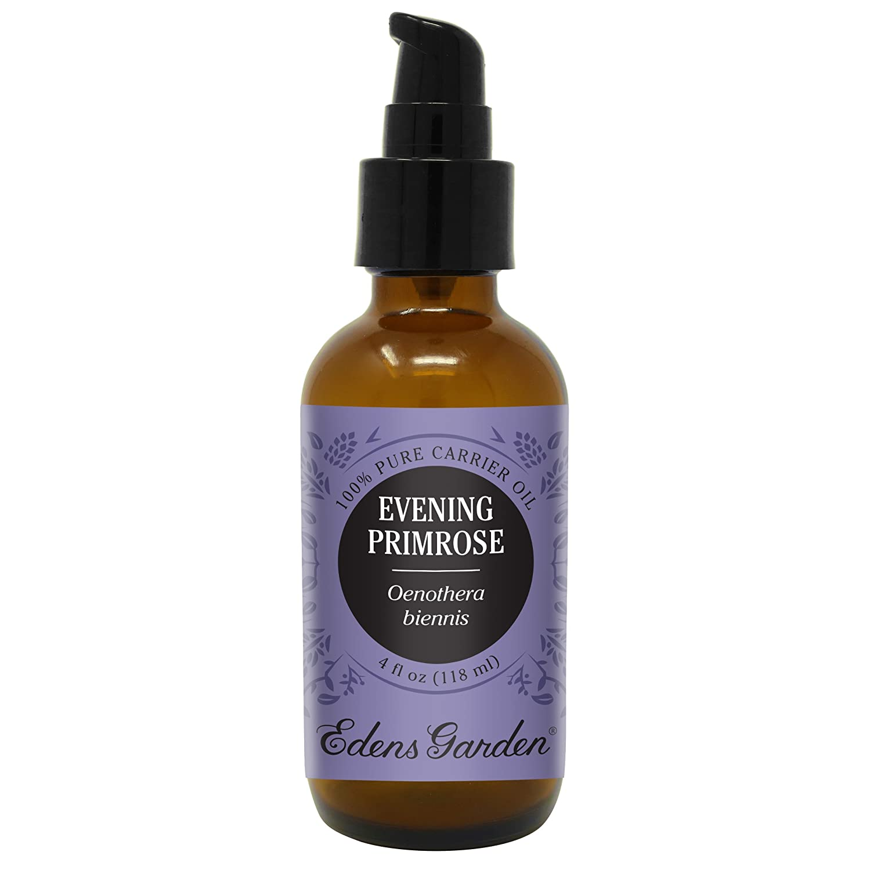 Edens Garden Evening Primrose Carrier Oil (Best For Mixing With Essential Oils), 4 oz