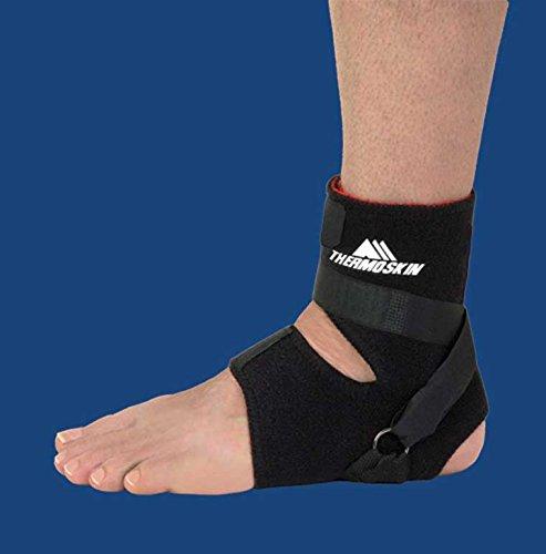Swede-O 86135 Thermal MVT2 Plantar DR Ankle Support, Large/X-Large, Black