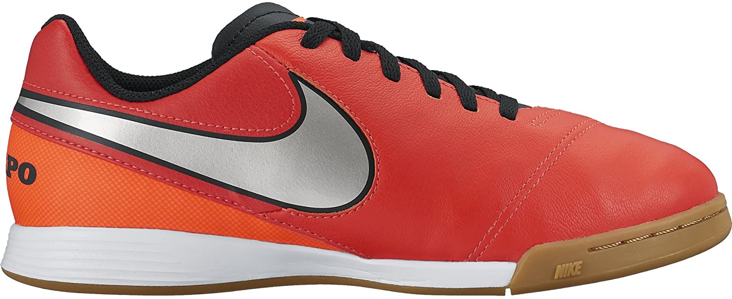 Nike Youth Tiempo Legend VI Indoor Shoes [Light Crimson]