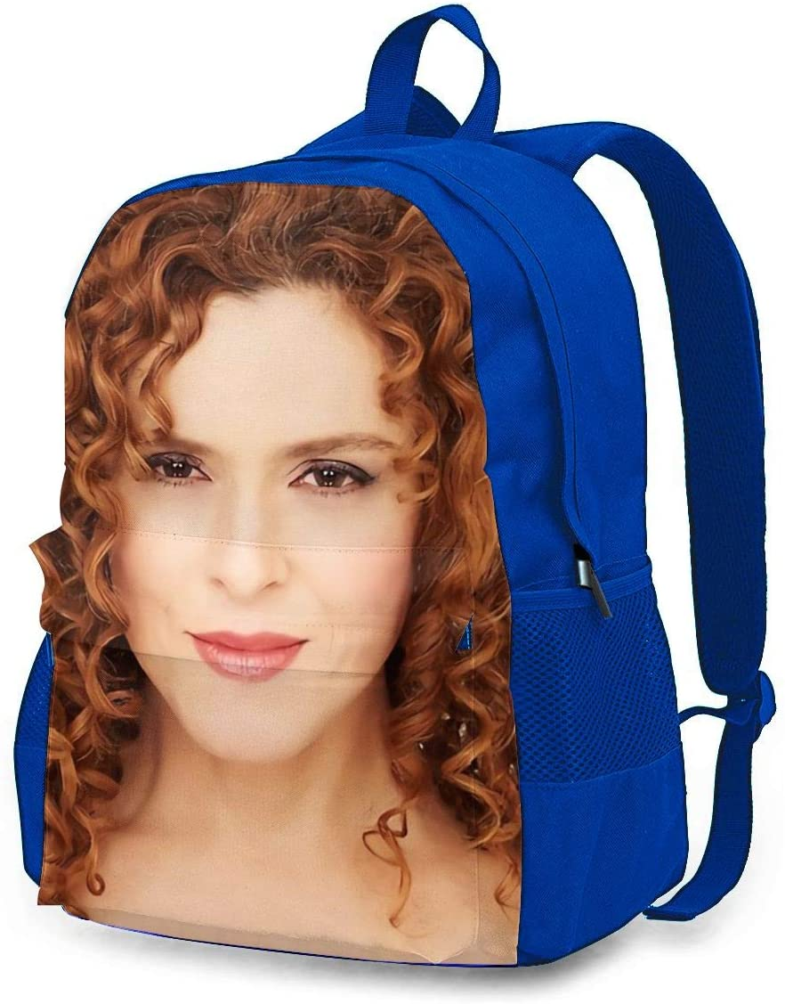 CHENWE Bernadette Peters Adult Classic Backpack Outdoor Leisure Backpack Student Bag