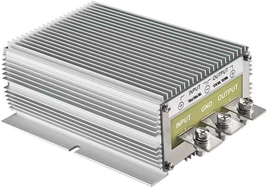60A 720W 12v Golf Cart 48V 36V to 12V Converter Voltage Regulator Golf Cart Voltage Converter Waterproof