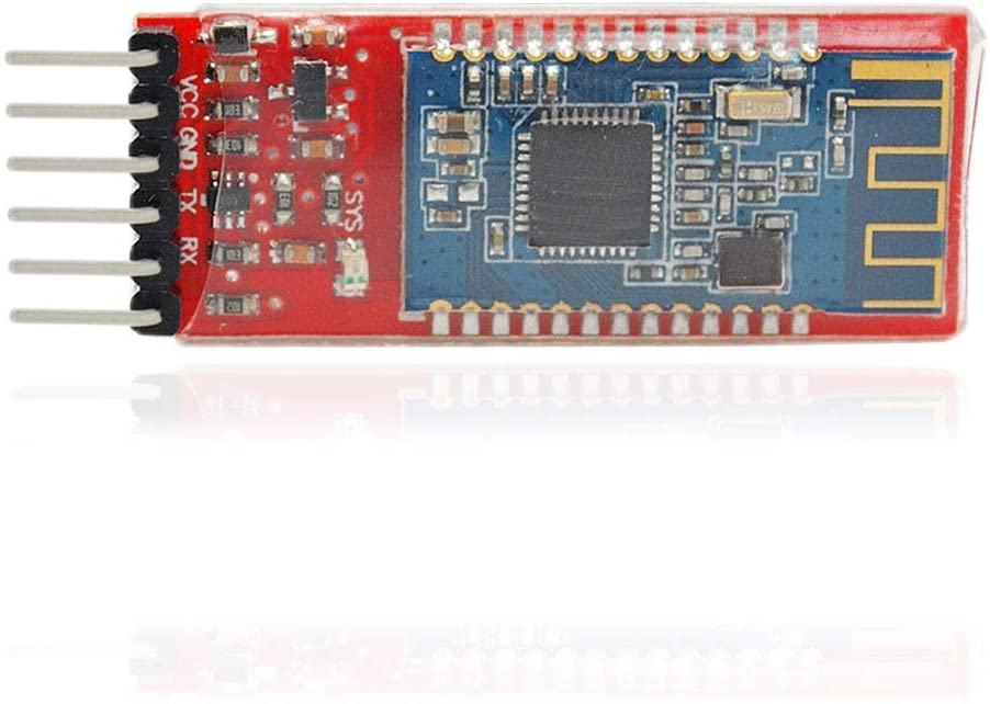 KXA Bluetooth 4.0 V2 Serial Port Module with Logic Level Conversion/Anti-Reverse Circuit