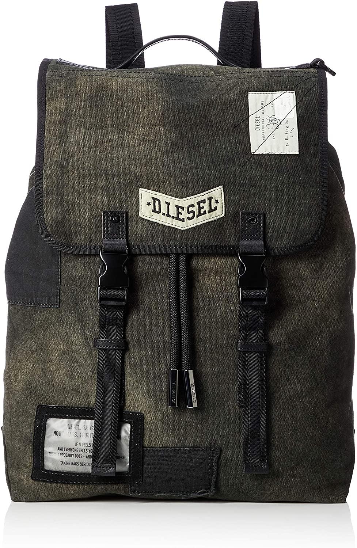 Diesel Men's TOKYO24 VOLPAGO BACK - backpack Accessory, black