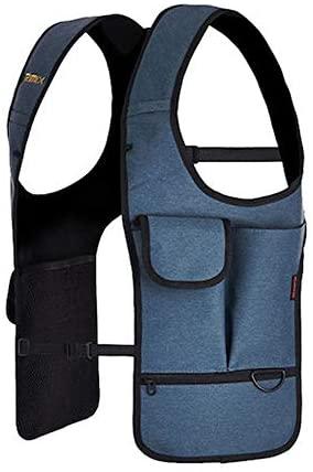 RIMIX Sport Multi-pocket Outdoor Sport Invisible armpit Shoulder Bag Anti-theft for Army Fan (Blue)