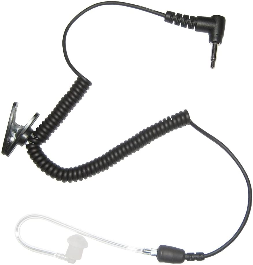 Impact AT4 Platinum 3.5mm Listen Only Earpiece with Straight Acoustic Tube (3 Year Warranty)