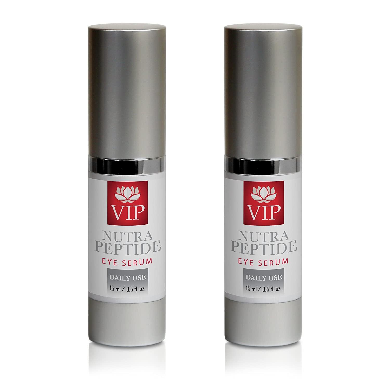 anti aging supplements - NUTRA PEPTIDE EYE SERUM - peptide derma - 2 Bottles