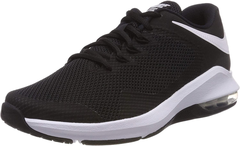 Nike Air Max Alpha Trainer Men's Cross Training Shoes (7.5, Black White)