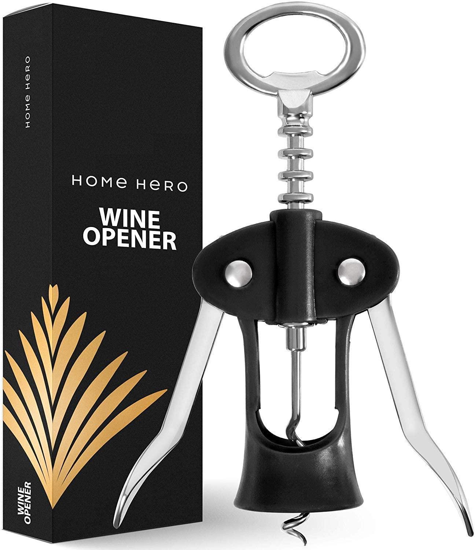 Wine Opener Wine Bottle Opener - Wing Corkscrew Wine Opener Wine Openers - Cork Screw Wine Bottle Openers Wine Corkscrew Corkscrews Wine Bottle Opener Stainless Steel Wine Opener Corkscrew Cork Opener