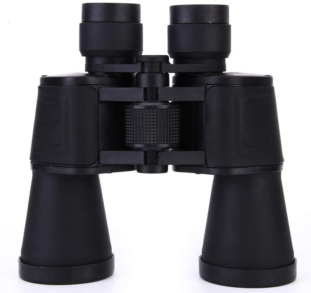 LWW Binoculars Anti-Slip High Magnification Hd Fast Focus Binocle Optical-LLL Night-Vision Dual Focus Capability Best-in Compact Odorless/Black / 185195mm