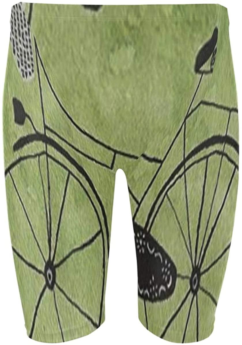 SLHFPX Bike Mens Jammer Swimsuit Athletic Racing & Training Swimwear