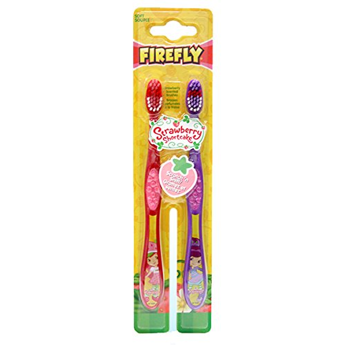 Strawberry Shortcake 2 Pack Toothbrush Soft - Strawberry Scented