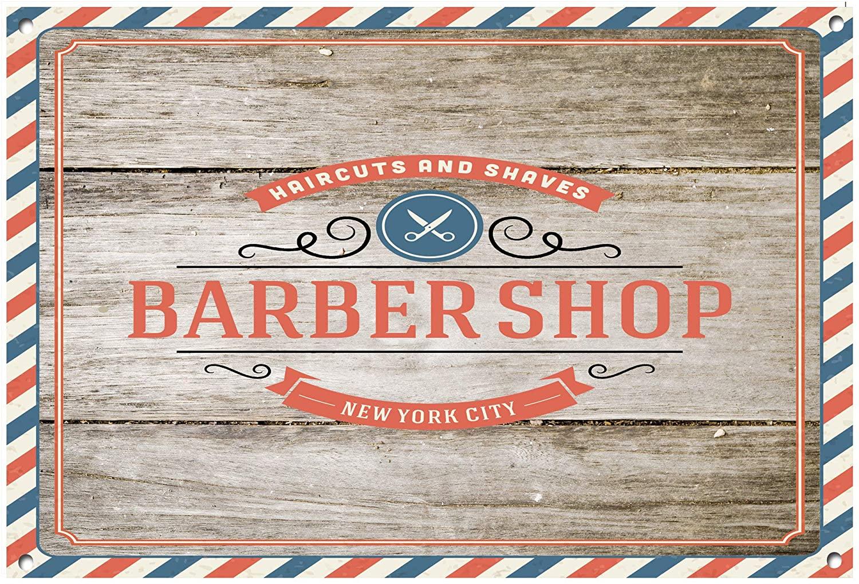 Flowershave357 Barber Metal Sign Barber Shop Barber Shop Sign Barber Shop Decor Salon Decor Salon Sign Hairdressing Wall Art 1041