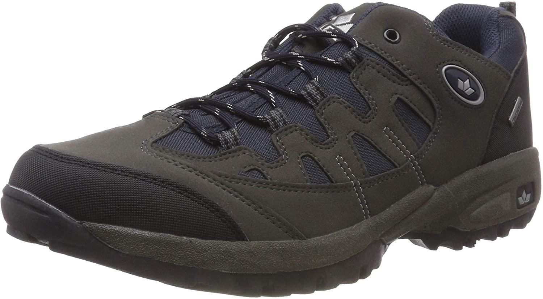 Lico Unisex Adults' Steppe Low Rise Hiking Shoes, Blue (Marine/Grau Marine/Grau), 11 UK