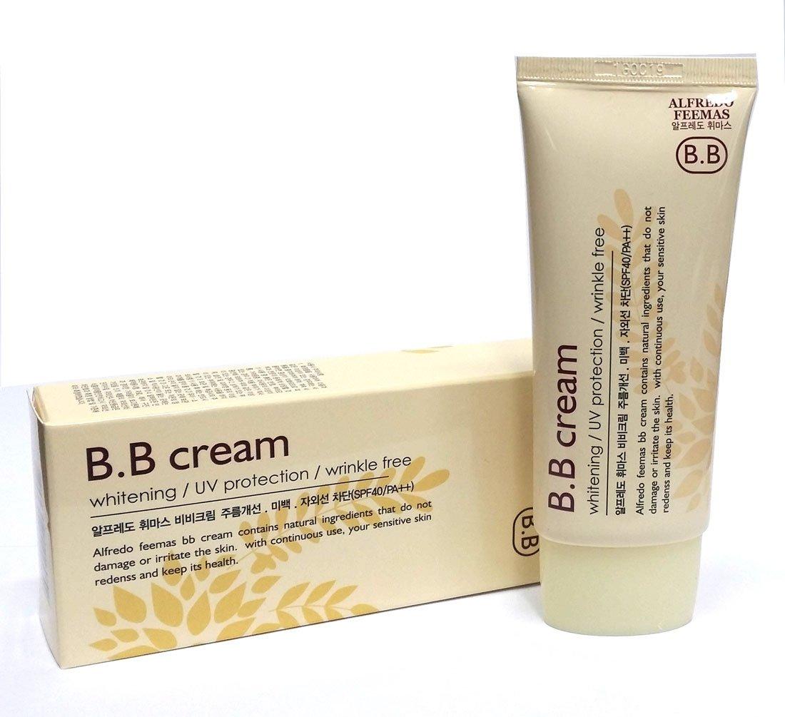 Alfredo feemas BB cream 50ml X 1ea / Whitening,Wrinkle free,UV protection (SPF40 PA++) / Korean Cosmetics