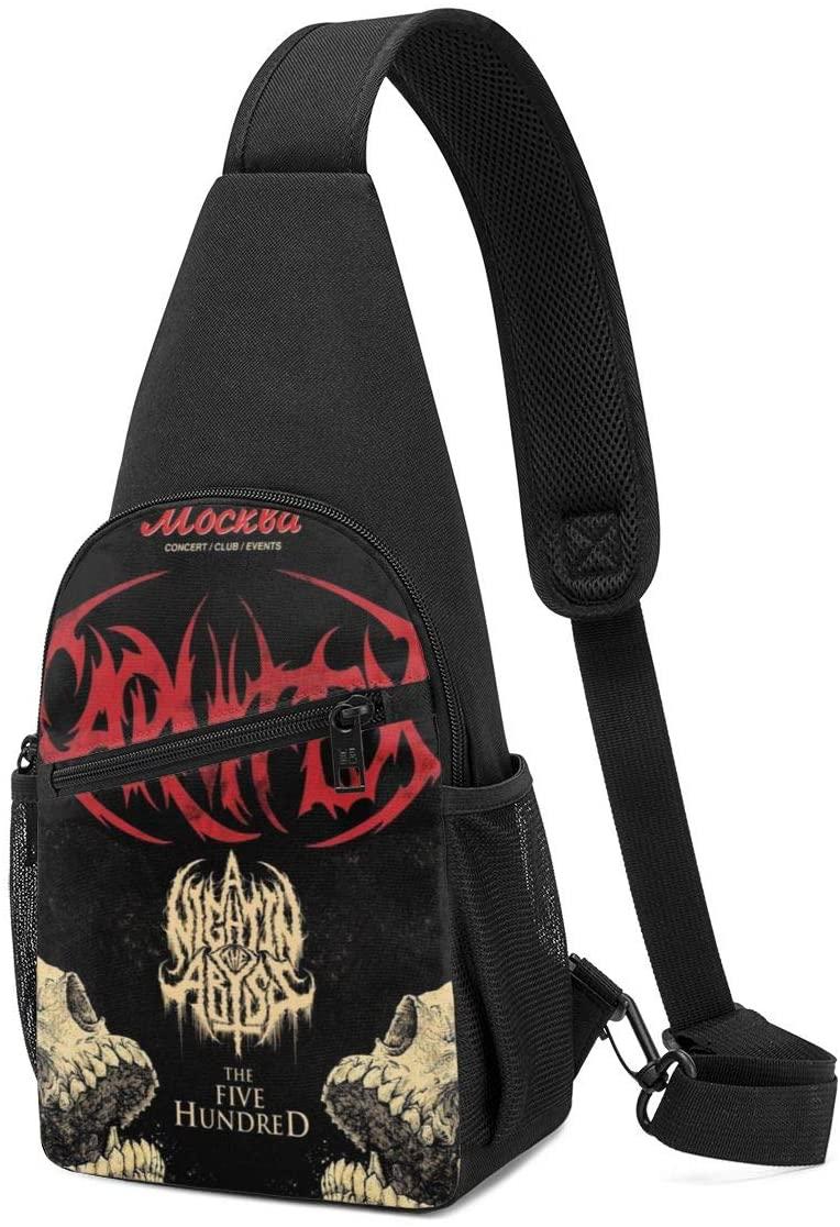 N/C Carnifex Slow Death Sling Bag Chest Bag Shoulder Backpack Cross Body Travel