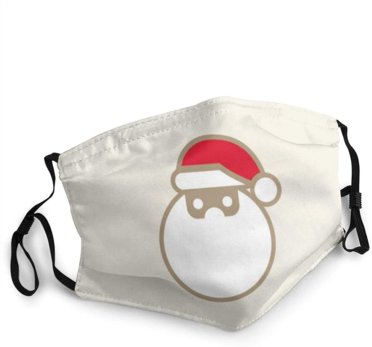 Fashion Protective Face Masks, Santa Claus Unisex Dust Mouth Masks, Washable, Reusable Masks