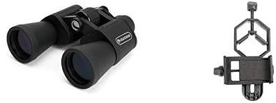 Celestron UpClose G2 20x50 Porro Binocular 71258 with Basic Smartphone Adapter 1.25