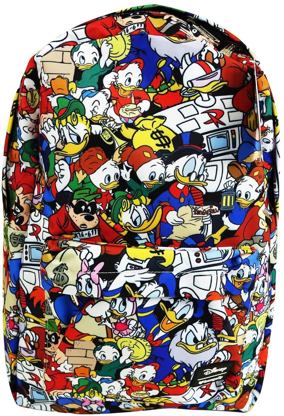 Loungefly Duck Tales All Over Print Backpack Standard