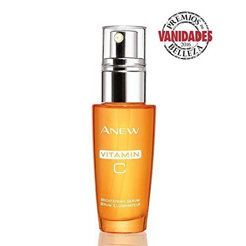 Avon Anew Vitamin C Brightening Serum Sold by The Glam Shop Brand New Fresh (some box imperfections) 1.0 Fl Oz