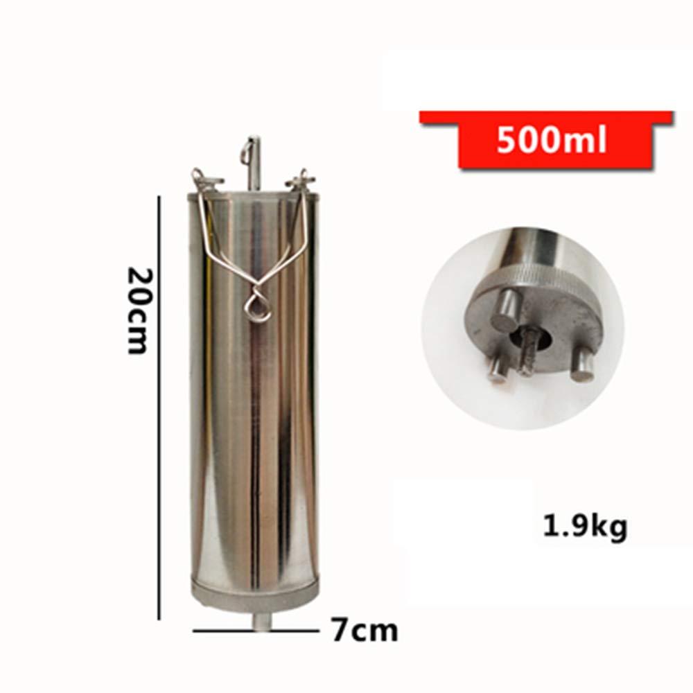 LANTAO Oil Bottom Sampler, Sewage Liquid Bottom Sampler Bottle (500ml)
