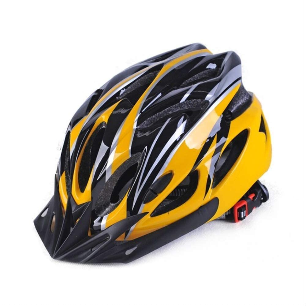 Vincent MTB Bicycle Helmet Cycling Hat Bike Caps Ultralight Road Mountain Breathable Head Protector M Yellow