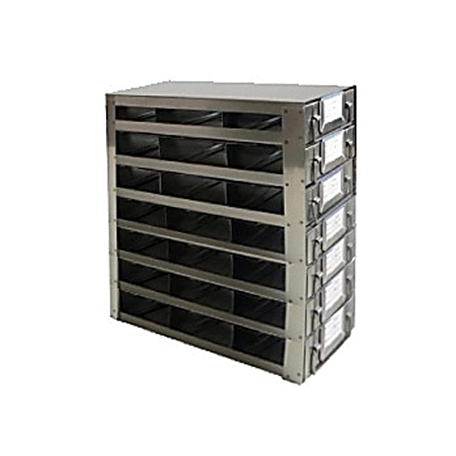 Argos Technologies RDS2537A Upright Freezer Drawer Rack for 25-Place Slide Box, Capacity 21 Box, 11 3/10