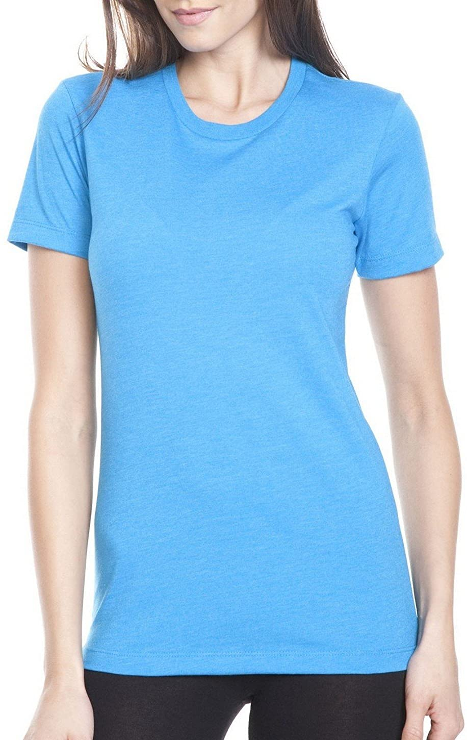 Next Level 6610 Ladies Crew Tee Turquoise X-Large