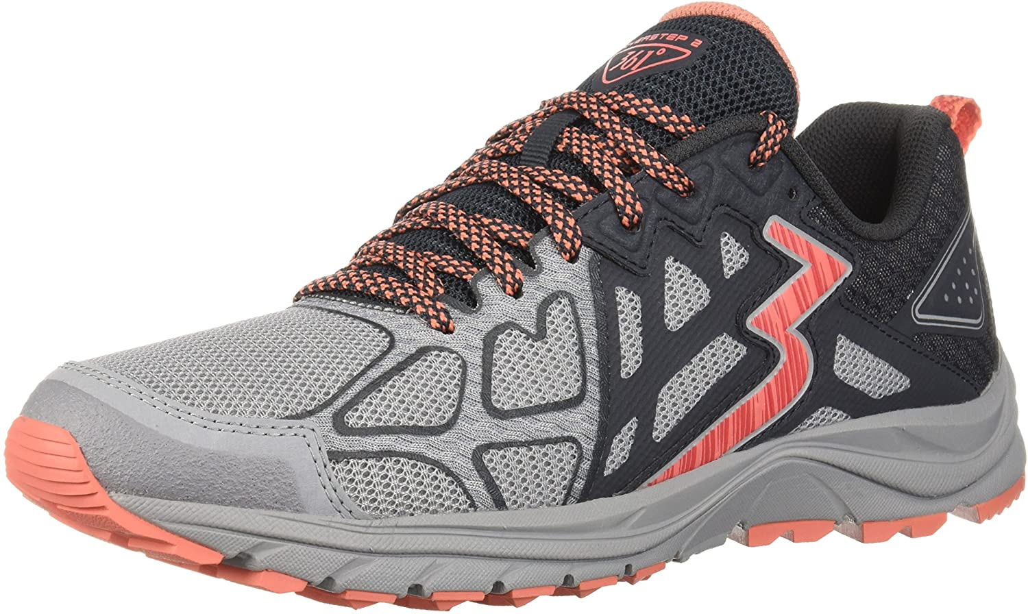 361° Womens 361-overstep 2 Trail Running Shoe