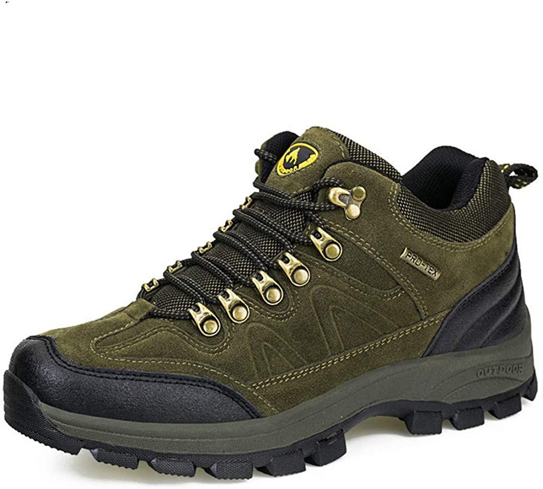 Waterproof Hiking Shoes For Men Winter Hiking Boots Men Outdoor Boots Climbing Walking Mountaineering Trekking Shoes