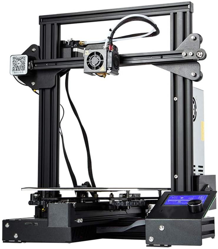 3D Printer Kit,3D Printer Large Size,Resume Power Failure Printing MeanWell Power,220x220x250mm