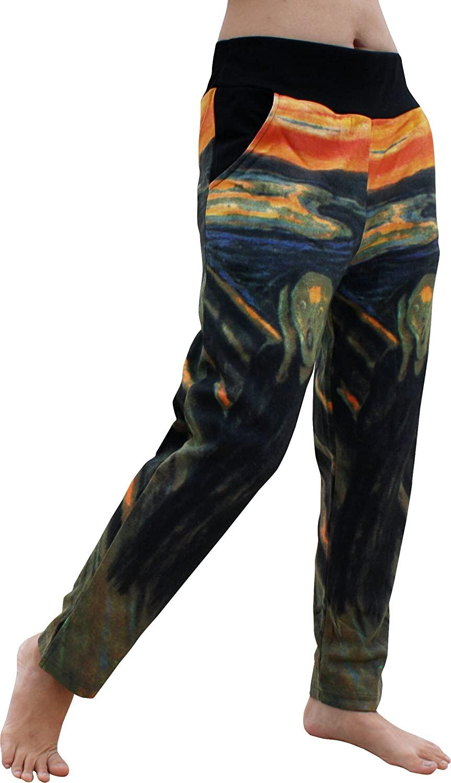 RaanPahMuang 4/5 Length Spandex Pants The Scream - Edvard Munch