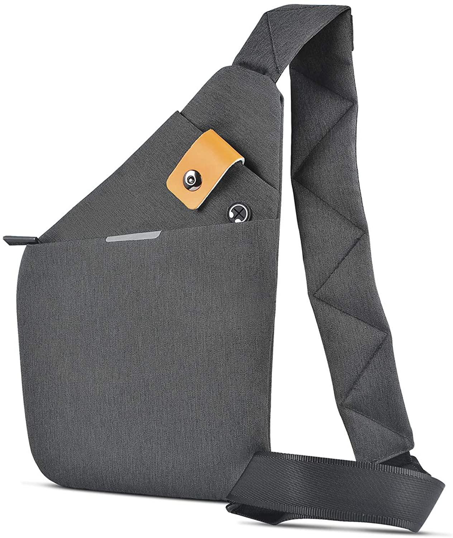 REALIKE Crossbody Sling Bag Sling Backpack Casual Chest Shoulder Bag for Travel Hiking Outdoor Sport Suitable For Men Women