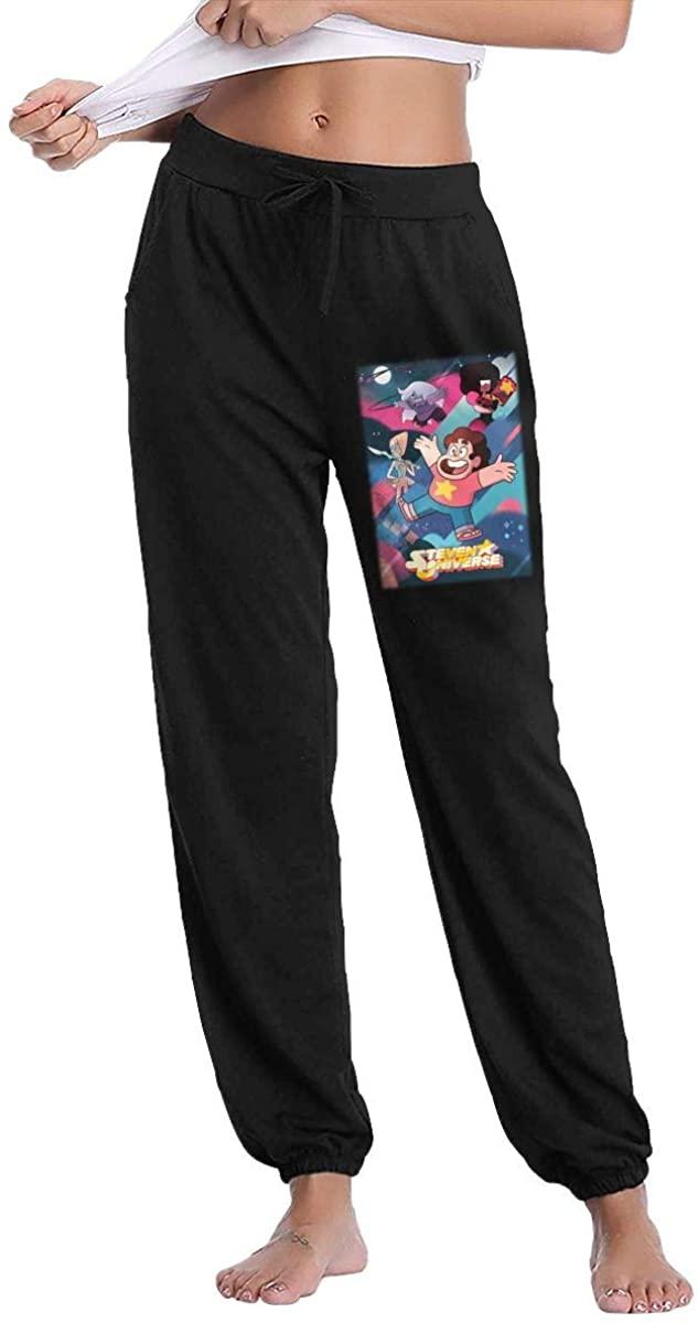 Ourjsncvns Steven Universe Women's 100% Cotton Casual Sweatpants, Jogger Pants