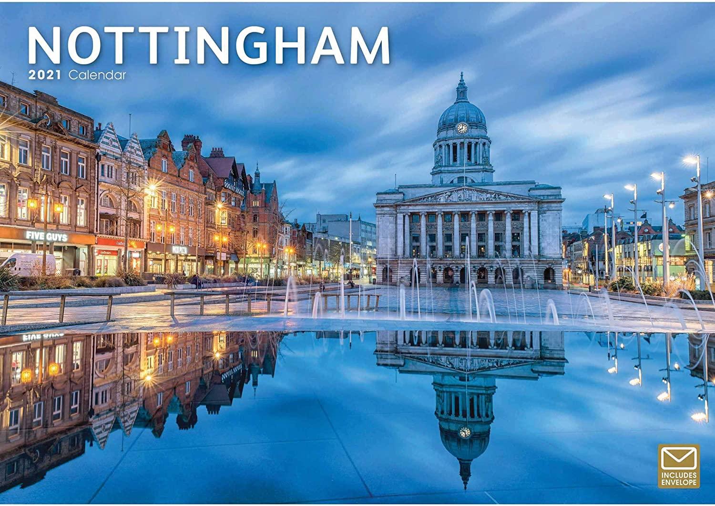 Nottingham A4 Calendar 2021