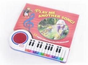 Song Book and Keyboard