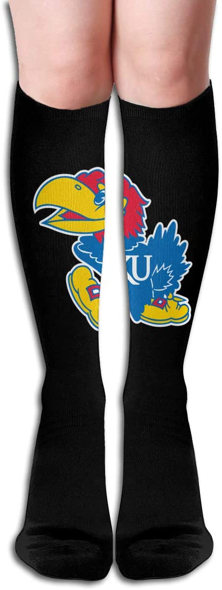 Ku Men's/Women's Comfortable Casual Funny Long Knee High Socks Compression Socks Winter Warm Soccer Socks