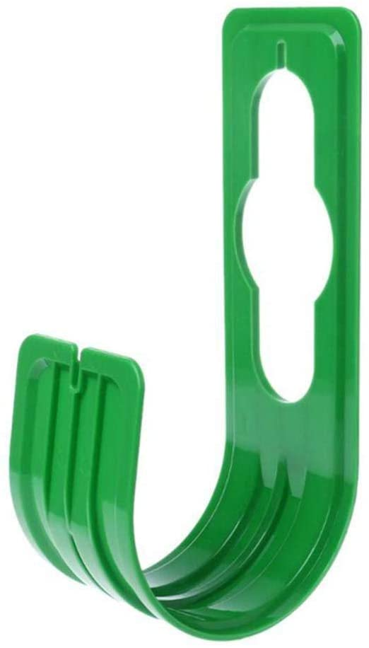 Hose Pipe Holder Hanger Garden Wall Mounted Watering Hose Organiser Hook (Green)