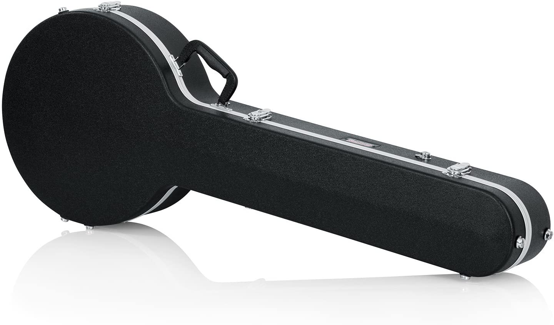 Gator Cases Deluxe ABS Molded Case for Full Size Banjo's (GC-BANJO-XL)