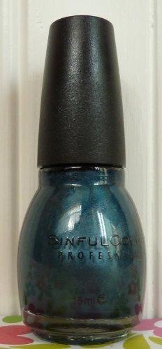 Sinful Colors Professional Nail Polish Enamel, It's Electric #1155.5 Oz.